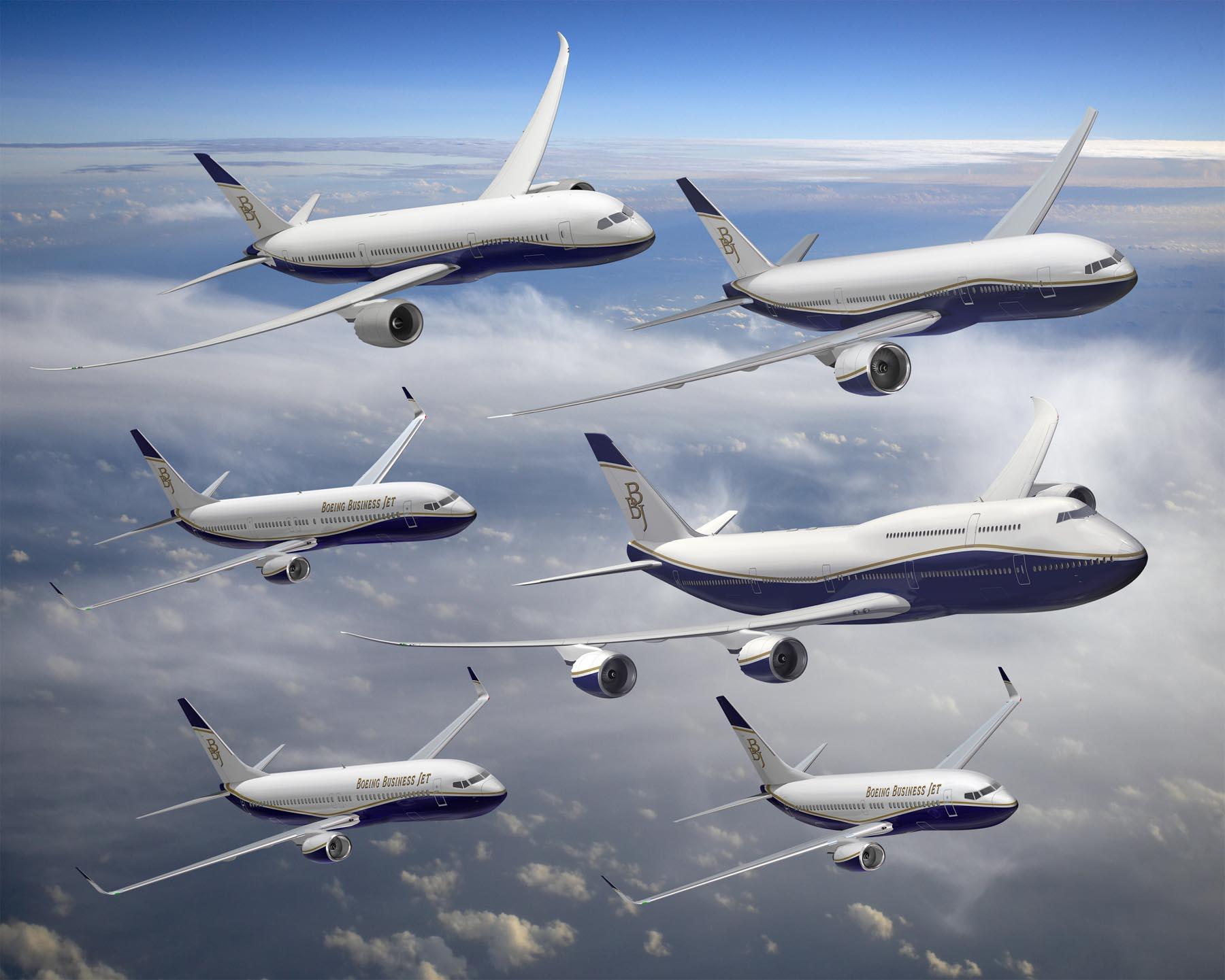 Boeing Business Jet Family K63803