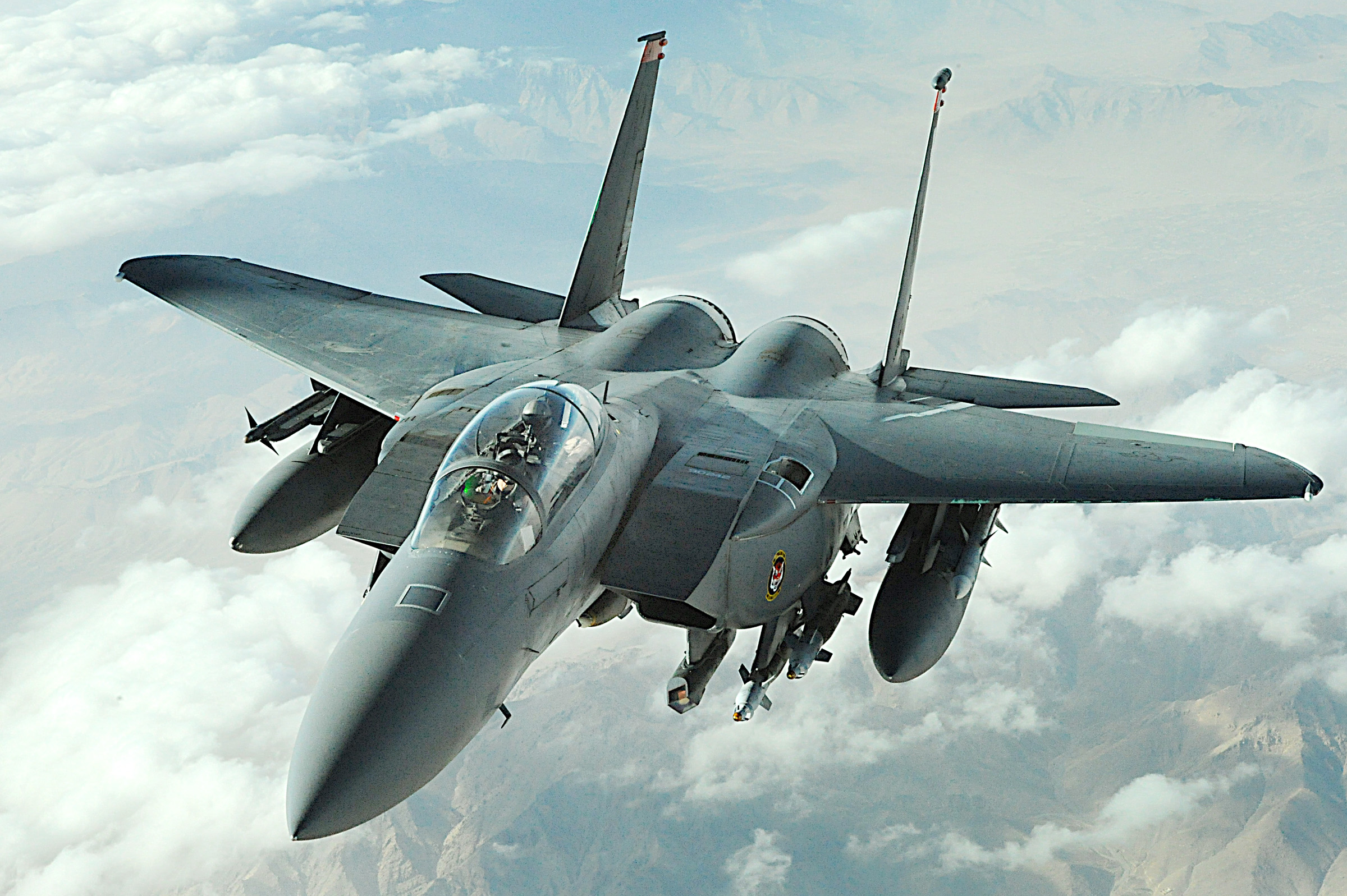 Aug. 3 airpower summary: F-15E provides cover for disabled convoy